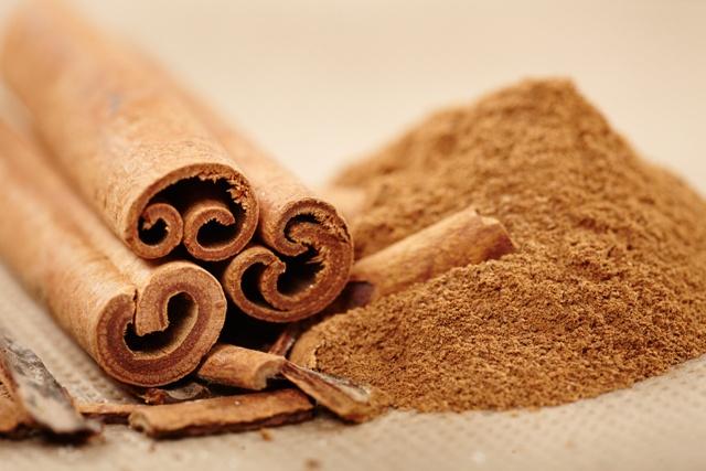 Cinnamon rolls and powder